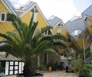 Układanka Domy, Rotterdam sześciennych