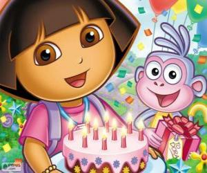 Układanka Dora Eksploratora świat obchodzi rocznicę jej
