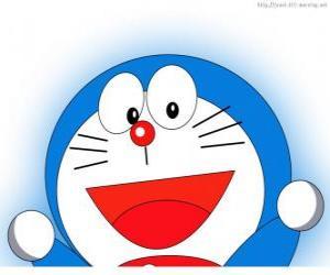 Układanka Doraemon jest przyjacielem Nobita magii i przygód bohatera