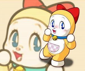 Układanka Dorami, Dorami-chan to mała siostra Doraemon