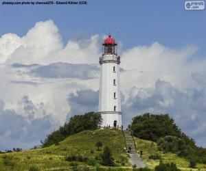 Układanka Dornbusch Lighthouse, Niemcy