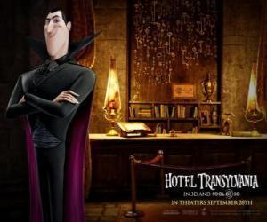 Układanka Dracula, właściciel Siedmiogrodu Hotel, Hotel Transylwania