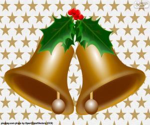 Układanka Dwa Dzwonki Boże Narodzenie
