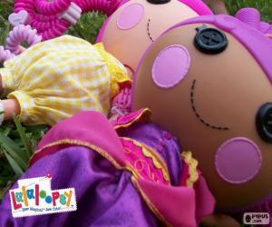 Układanka Dwie lalki Lalaloopsy