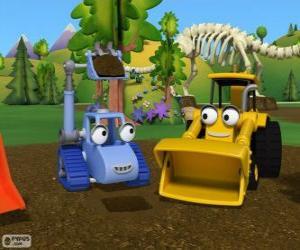 Układanka Dwie maszyny Boba