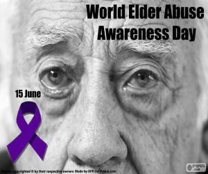 Układanka Dzień świadomości World Elder Abuse