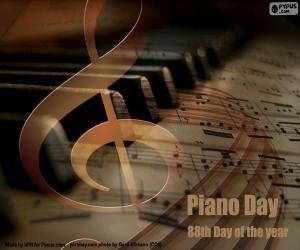 Układanka Dzień Fortepianu