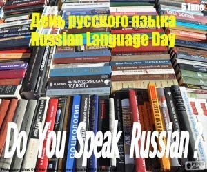 Układanka Dzień języka rosyjskiego