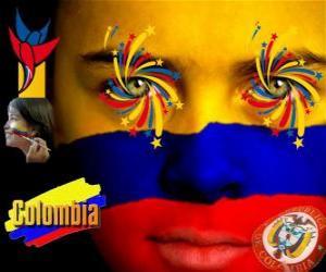 Układanka Dzień Niepodległości Kolumbii upamiętnia 20 lipca 1810