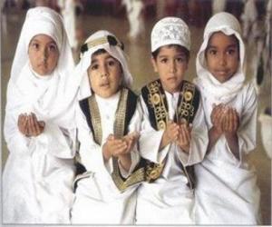 Układanka Dzieci co Du'a, błaganie w islamie