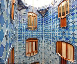Układanka Dziedzińce, Casa Batlló
