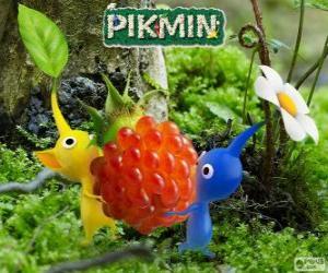 Układanka Dziwne istoty Pikmin
