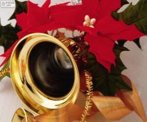 Układanka Dzwon urządzone na Boże Narodzenie