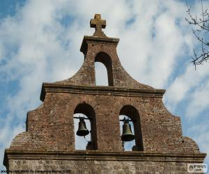 Układanka Dzwonnica Kościoła