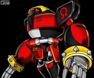 Układanka E-123 Omega, robota utworzone przez Doktor Eggman