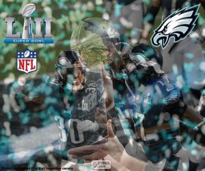 Układanka Eagles, Super Bowl 2018 r.