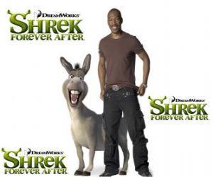 Układanka Eddie Murphy zapewnia Donkey głos w filmie Shrek Forever Po najnowszych