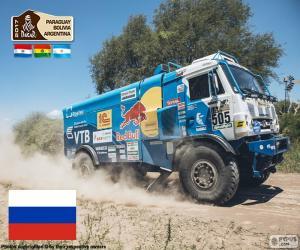 Układanka Eduard Nikołajew, Dakar 2017