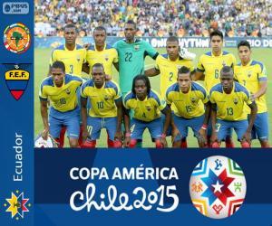 Układanka Ekwador Copa America 2015