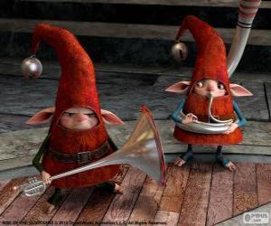 Układanka Elfy. Strażnicy Marzeń