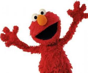 Układanka Elmo uśmiecha