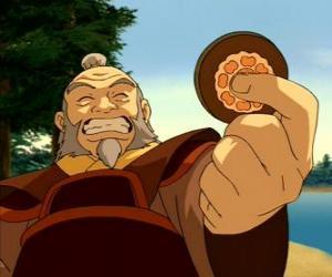 Układanka Emerytowanego generała Iroh znany jako Smok Zachodu jest wuj Zuko i mentor