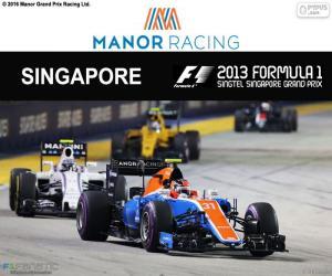 Układanka Esteban Ocon, Grand Prix Singapuru 2016