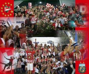 Układanka Estudiantes de La Plata - Mistrzostwa Apertura 2010 w Argentynie