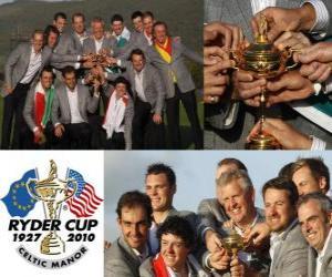 Układanka Europa wygrywa Ryder Cup 2010