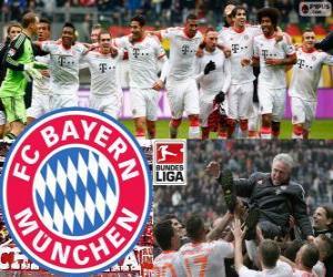 Układanka F. C. Bayern Monachium, mistrz Bundesligi 2012-13