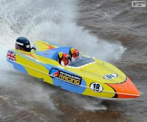 Układanka F1 Powerboat Racing