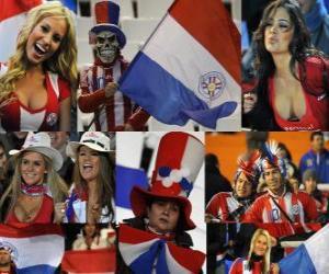 Układanka Fani Paragwaj, Argentyna 2011