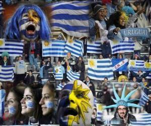 Układanka Fani Urugwaj, Argentyna 2011