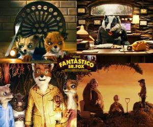 Układanka Fantastic Mr Fox