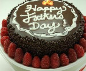 Układanka Father's Day Cake