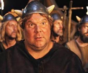 Układanka Faxe, Viking większy apetyt, największym i najsilniejszym Wikingowie Flake