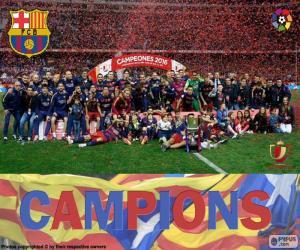 Układanka FC Barcelona, Copa del Rey 2015-2016