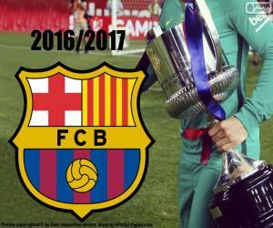 Układanka FC Barcelona, Copa del Rey 2016-17