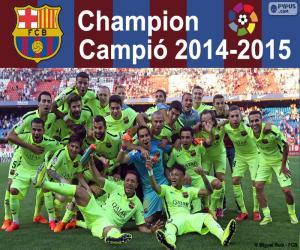 Układanka FC Barcelona, mistrz 2014-2015