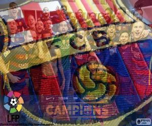 Układanka FC Barcelona, mistrz 2015-2016