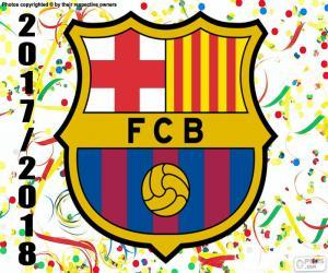 Układanka FC Barcelona, mistrz 2017-18
