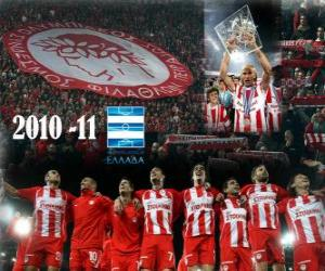 Układanka FC Olympiakos Liga Mistrzów 2010-11 grecki