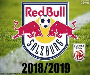 Układanka FC Salzburg, Bundesliga 2019