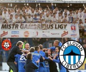 Układanka FC Slovan Liberec, mistrz Gambrinus Liga 2011-2012, Piłka nożna Republika Czeska
