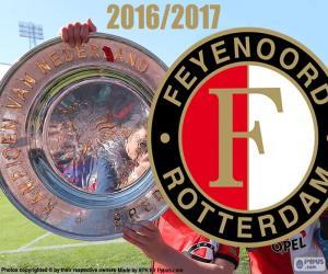 Układanka Feyenoord, mistrz 2016-2017