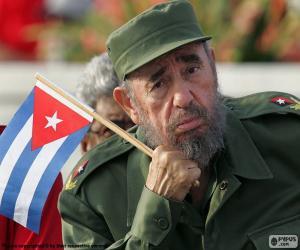 Układanka Fidel Castro