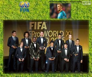 Układanka FIFA/FIFPro World XI 2015