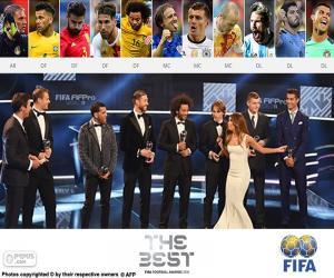 Układanka FIFA/FIFPro World11 2016