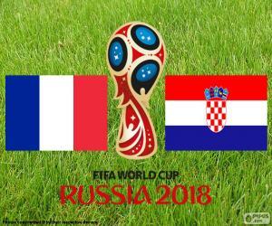 Układanka Finał Pucharu Świata FIFA 2018 Rosja