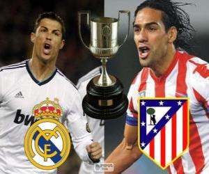 Układanka Final Pucharu króla 2012-13, Real Madryt - Atletico Madryt
